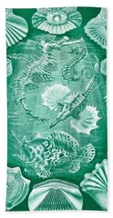 Collection Of Teleostei Hand Towel by Ernst Haeckel