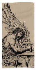 Daedalus Workshop Hand Towel by Derrick Higgins