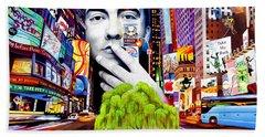 Dave Matthews Dreaming Tree Hand Towel by Joshua Morton