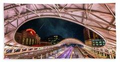 Denver Air Traveler Hand Towel by Darren  White