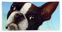 Dog-nature 4 Hand Towel by James W Johnson