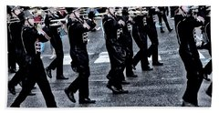 Don't Let The Parade Pass You By Hand Towel by Bill Cannon