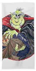 Dracula Hand Towel by Maylee Christie