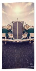Dream Car Hand Towel by Edward Fielding