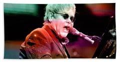 Elton John Hand Towel by Marvin Blaine