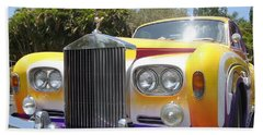 Elton John's Old Rolls Royce Hand Towel by Barbie Corbett-Newmin