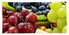 Fresh Fruits And Cheese Hand Towel by Elena Elisseeva