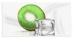 Frozen Fruit Hand Towel by Veronica Minozzi