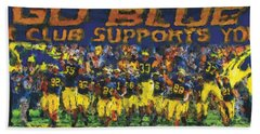 Here We Come Hand Towel by John Farr