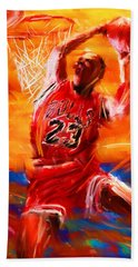 His Airness Hand Towel by Lourry Legarde