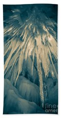 Ice Cave Hand Towel by Edward Fielding