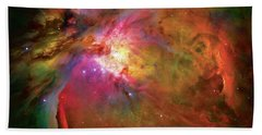 Into The Orion Nebula Hand Towel by Jennifer Rondinelli Reilly - Fine Art Photography