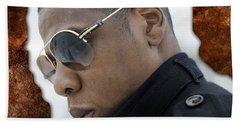 Jay Z Hand Towel by Marvin Blaine