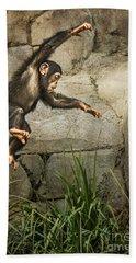 Jump For Joy Hand Towel by Jamie Pham