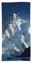 K2 At Dawn Pakistan Hand Towel by Colin Monteath