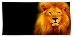King's Portrait Hand Towel by Lourry Legarde