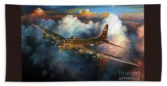 Last Flight For Nine-o-nine Hand Towel by Randy Green