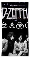 Led Zeppelin Hand Towel by FHT Designs