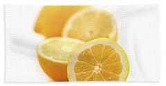 Lemons Hand Towel by Elena Elisseeva