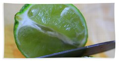 Lime Hand Towel by Dan Sproul