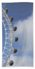 London Eye Hand Towel by Joana Kruse