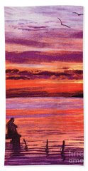 Lost In Wonder Hand Towel by Jane Small