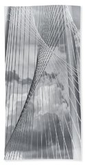 Margaret Hunt Hill Bridge Hand Towel by Joan Carroll