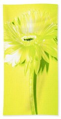 Margarita Zinnia Hand Towel by Sherry Allen
