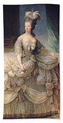 Marie Antoinette Queen Of France Hand Towel by Elisabeth Louise Vigee-Lebrun