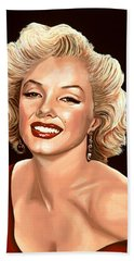 Marilyn Monroe 3 Hand Towel by Paul Meijering