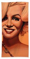 Marilyn Monroe 5 Hand Towel by Paul Meijering