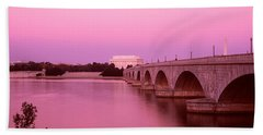 Memorial Bridge, Washington Dc Hand Towel by Panoramic Images