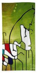 Mi Caballo 2 Hand Towel by Jeff Barrett