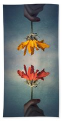 Middle Ground Hand Towel by Tara Turner