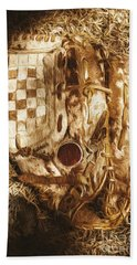 Mitts And Squiggles  Hand Towel by Jorgo Photography - Wall Art Gallery
