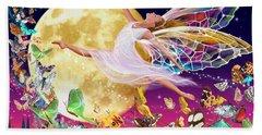 Moon Fairy Variant 1 Hand Towel by Garry Walton