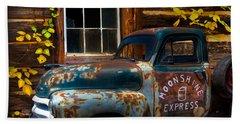 Moonshine Express Hand Towel by Debra and Dave Vanderlaan