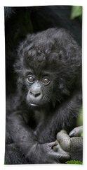 Mountain Gorilla Infant Hand Towel by Suzi Eszterhas