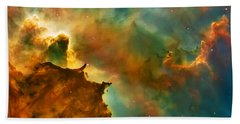 Nebula Cloud Hand Towel by Jennifer Rondinelli Reilly - Fine Art Photography
