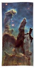 New Pillars Of Creation Hd Tall Hand Towel by Adam Romanowicz
