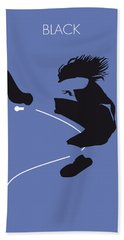 No008 My Pearl Jam Minimal Music Poster Hand Towel by Chungkong Art