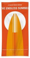 No274 My The Endless Summer Minimal Movie Poster Hand Towel by Chungkong Art