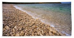 Northern Shores Hand Towel by Adam Romanowicz