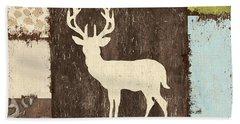 Open Season 2 Hand Towel by Debbie DeWitt