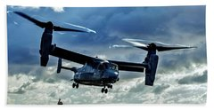 Osprey Approach Hand Towel by Benjamin Yeager