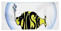 Phish Bowl Hand Towel by Bill Cannon