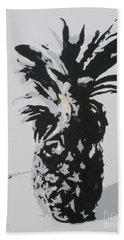 Pineapple Hand Towel by Katharina Filus