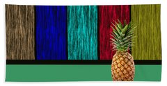 Pineapple Hand Towel by Marvin Blaine