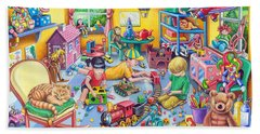 Play Room Hand Towel by Mark Gregory