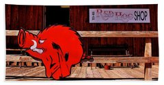 Razorback Country Hand Towel by Benjamin Yeager